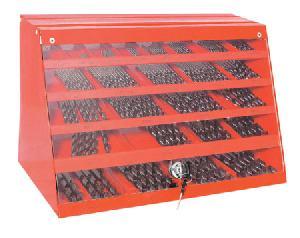 220 Pcs Hss Twist Drills Din 338 In Big Metal Box