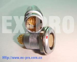 Sell Ex-pro Connector B , K, S Series 10pin 19 Pin 32pin Metal Push Pull Usb Cable Connector Supplie