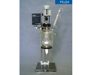 Double Layer Glass Reactor
