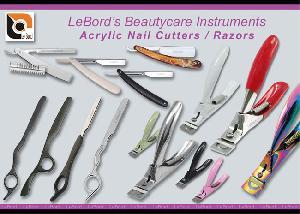 Beautycare Healthcare Acrylic Nail Cutters Razors