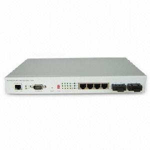1 1 Optical Port Fiber Ethernet Switch