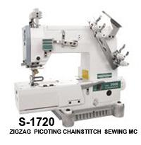 zigzag picoting chainstitch sewing machine