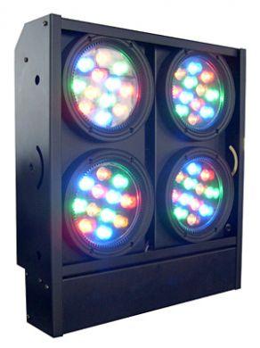 led blinder light 4 bar 3w w amber