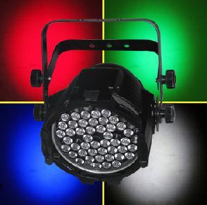 led stage lighting par 64 rgbw 4 colors 52x3watt