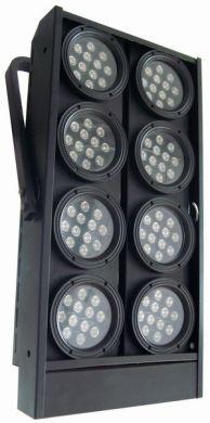 stage lights led blinder 8 head 3w w amber