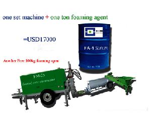 fm 25 foamed concrete machine