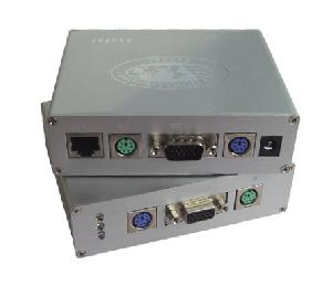 Cat5 Kvm Extender With Extension Distance Max Up To 30m Over Single Cat5e Network Cable