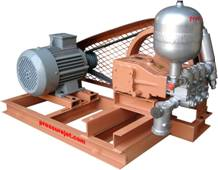 hydrostatic hydrotest pump