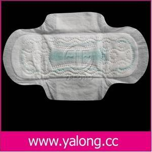 apertured film ultra thin sanitary towel wings