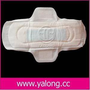 cottony ultra thin sanitary napkin herb wings