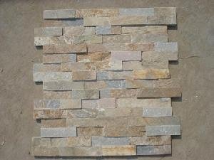 slate wall cladding wood