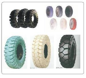 forklift tire wheel