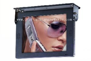 15 bus lcd monitor display advertise public buses media player