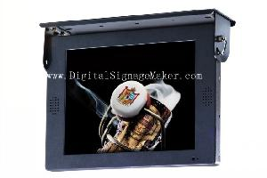 15 Inch Bus Vehicle / Lcd Screen Advertising Player / Buses Advertising Player On Monitor / Display