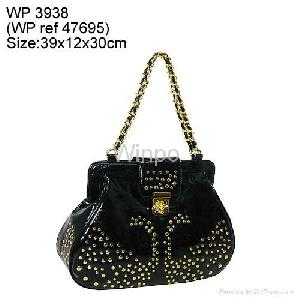 fashion handbag golden studs 2009