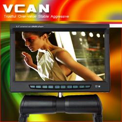 Flip-down Car Dvd Player Roof Mount 8.5 Inch Central Armrest Player
