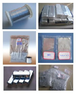 Indium Ingot, Foil, Wire, Ball, Powder, High Purity Indium