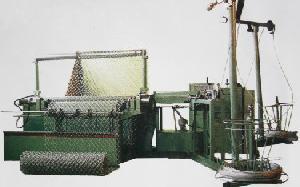 chain link fence diamond wire mesh machine