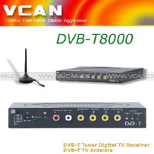 Car Mobile Digital Dvb-t Tv Receiver Tuner Box