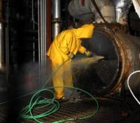 heat exchanger condenser evaporator tube pipe cleaning