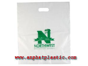 Die Cut Handle Bag From An Phat Plastic In Viet Nam