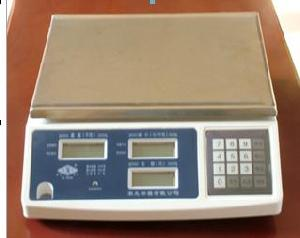 Digital Price Counting Scale, Lcd Display With Blue Backlight.export To Iran And Ukraine, Brazil