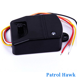 Wireless Vibration Sensor For Home Security System Sms Mms Alarm