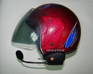 motorcycle helmet headset