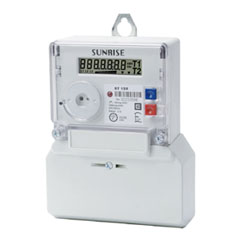 Single Phase Multi-tariff Electricity Meter