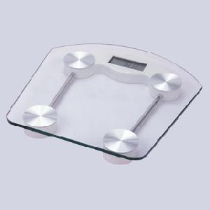 Electronic Bathroom Scales. 150kg / 0.1kg Overload And Low Battery Indicator Auto-lock / Shut Functi