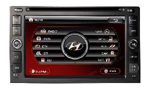 Car Dvd Gps Player For Hyundai / Tucson / Sonata / Elantra Sd-6090