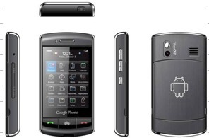 Wifi Smart Phone Gprs / Wap, Dual Sim Standby, 2.0mp Camera, Touch Screen, Bluetooth, Android System