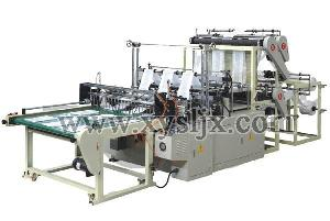 Six Lines High Speed Bag Making Machine Computer Control