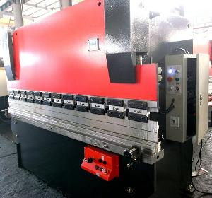 Plate Bending Machine, Press Brake Wc67y / Cnc Hydraulic Plant Bender / Metal Processing Machine