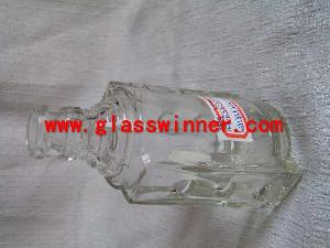 White Wine Glass Bottle