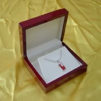 Wooded Jewelry Boxes Red Colour