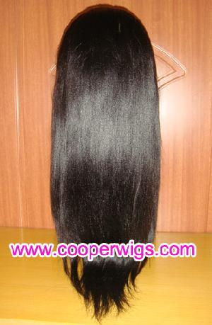 Chinese Remy Hair Lace Wigs Hair