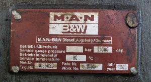 Used Man 16v40 / 45 Hfo Generator Sets