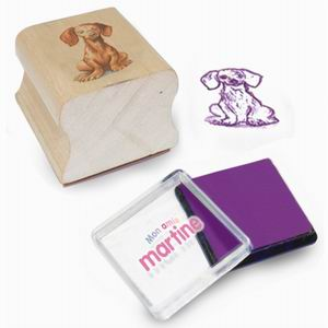 Wooden Stamp, Rubber Stamp, Toy Stamps