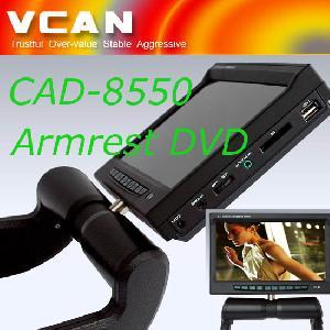 8.5 Car Armrest Mount Dvd Player , Cad-8550