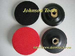 "holder backing pads m14 m16 5 8"" 11 thread"
