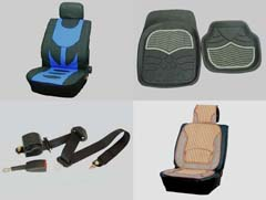 Seat Cover, Seat Cushion, Seat Belt And Floor Mat