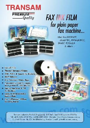 Compatible Fax Ink Films For Plain Paper Fax Machines