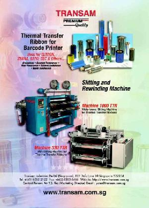 Slitting Machines For Thermal Transfer Films