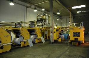 Rockwell Rotary Web Offset Press With Cutoff 578. Age 1987