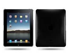 Clear Crystal Hard Case Cover For Ipad Black
