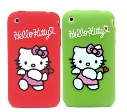Manufactured Using Premium Silicone Material-hello Kitty Silicone Case