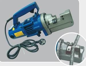 portable electrical hydraulic rebar cutting tool