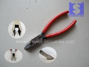 prefessional electrician diagonal cutting plier plastic