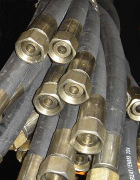 Hydraulic Rubber Hose High Pressure Rubber Hose